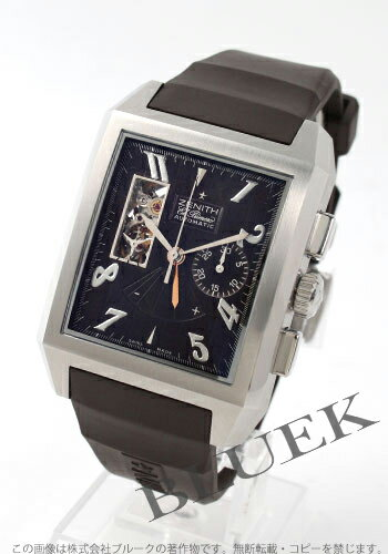 Zenith ground port royal opening L primero black men 03.0550.4021/75.R513