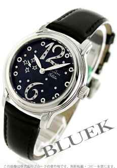 Zenith star elite Glam diamond automatic leather Black Womens 03.1231.67/21.C626