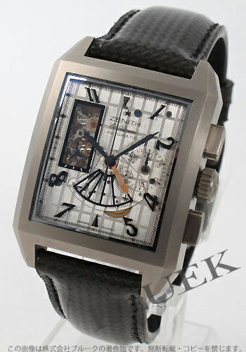 Zenith port royal opening concept L primero titanium silver men 95.0540.4021/77.C550
