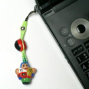 エケコ人形 本物 携帯ストラップ 開運グッズ ペルー産 携帯ストラップ 金運 恋愛運 結婚運 おすすめ