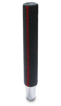 【シフトノブ】カシムラ KS-98(スーパーロングノブ本革×レッドステッチ) 【500】