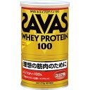 【プロテイン】SAVAS(ザバス)WHEY PROTEIN(ホエイプロテイン)100 ココア味 378g CZ7425【350】