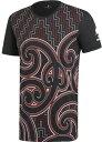 【ラグビーウエア】ADIDAS(アディダス)マオリオールブラックス グラフィックTシャツ FLX09【350】【ラッキーシール対応】