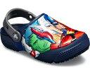 ショッピングcrocs 【キッズサンダル】crocs(クロックス)ファン ラブ マーベル マルチ クロッグ205505【70】