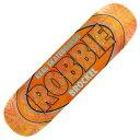 【スケートボードデッキ】REAL(リアル)PRO OVAL Robbie Brockel ORANGE 【350】