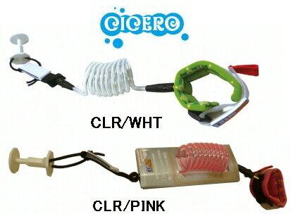 【ボディボード用リーシュコード】CICERO(シセロ)BB LEASH DESIGN WRIST(手首用)【350】