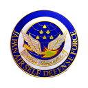 自衛隊グッズ 彫金ステッカー ブルーインパルス エンブレム