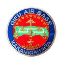 自衛隊グッズ 彫金ステッカー 岐阜基地 KAKAMIGAHARA