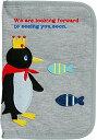 ショッピング猫 ニックナック POETIC マルチケース 母子手帳 マルチポーチ 犬猫病院手帳 通帳ケース パスポートケース ボッシュ ペンギン