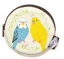 *【送料無料】セキセイインコ♪コインケース【鳥グッズ】【鳥シリーズ】