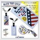 ☆BLUE TEE GOLF California 【3WAYホルダー】パターカバーホルダー♪ グローブホルダー♪ ネームプレート♪【Tokyo 新橋店】