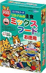 【マルカン】リス・ハムの主食ミックスフード お徳...の商品画像