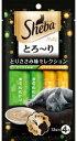 【マースジャパン】シーバ とろ〜り メルティ とりささみ味セレクション 12gx4本x48個(ケース販売)