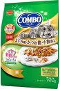 【日本ペット】コンボ キャット まぐろ味 かつおぶし 小魚添え 700g