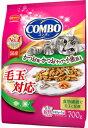 【日本ペット】コンボ キャット 毛玉対応 かつお味 かつおチップ 小魚添え 700g