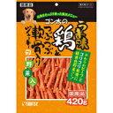 ショッピング犬用 【サンライズ】ゴン太のうま味 鶏とつぶつぶ軟骨入りジャーキー 緑黄色野菜入り 420g