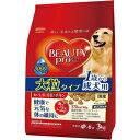 送料込価格【日本ペット】ビューティープロ ドッグ 成犬用 1歳から 大粒タイプ 3kgx4個(ケース販売)