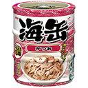 【アイシア】海缶ミニ かつお 60gx3Px24個(ケース販売)