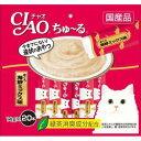 【いなばペット】チャオちゅ〜る まぐろ 海鮮ミックス味 14gx20本