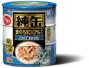 【アイシア】純缶 かつお節入りまぐろ 125gx3Px18個(ケース販売)