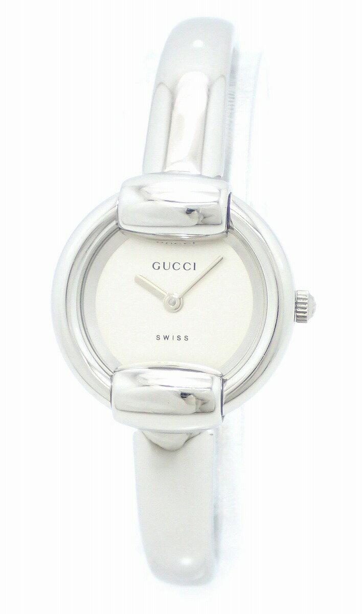 【ウォッチ】GUCCI グッチ シルバー文字盤 Rサイズ SS レディース QZ クォーツ 腕時計 1400L 【】【k】【Blumin 店】