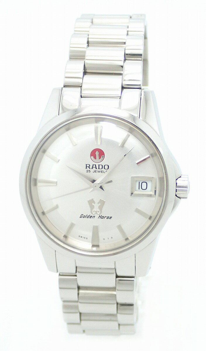 【ウォッチ】RADO ラドー ゴールデンホース シルバー文字盤 SS メンズ AT オートマ 腕時計 658.3832.4【】【u】【Blumin 店】