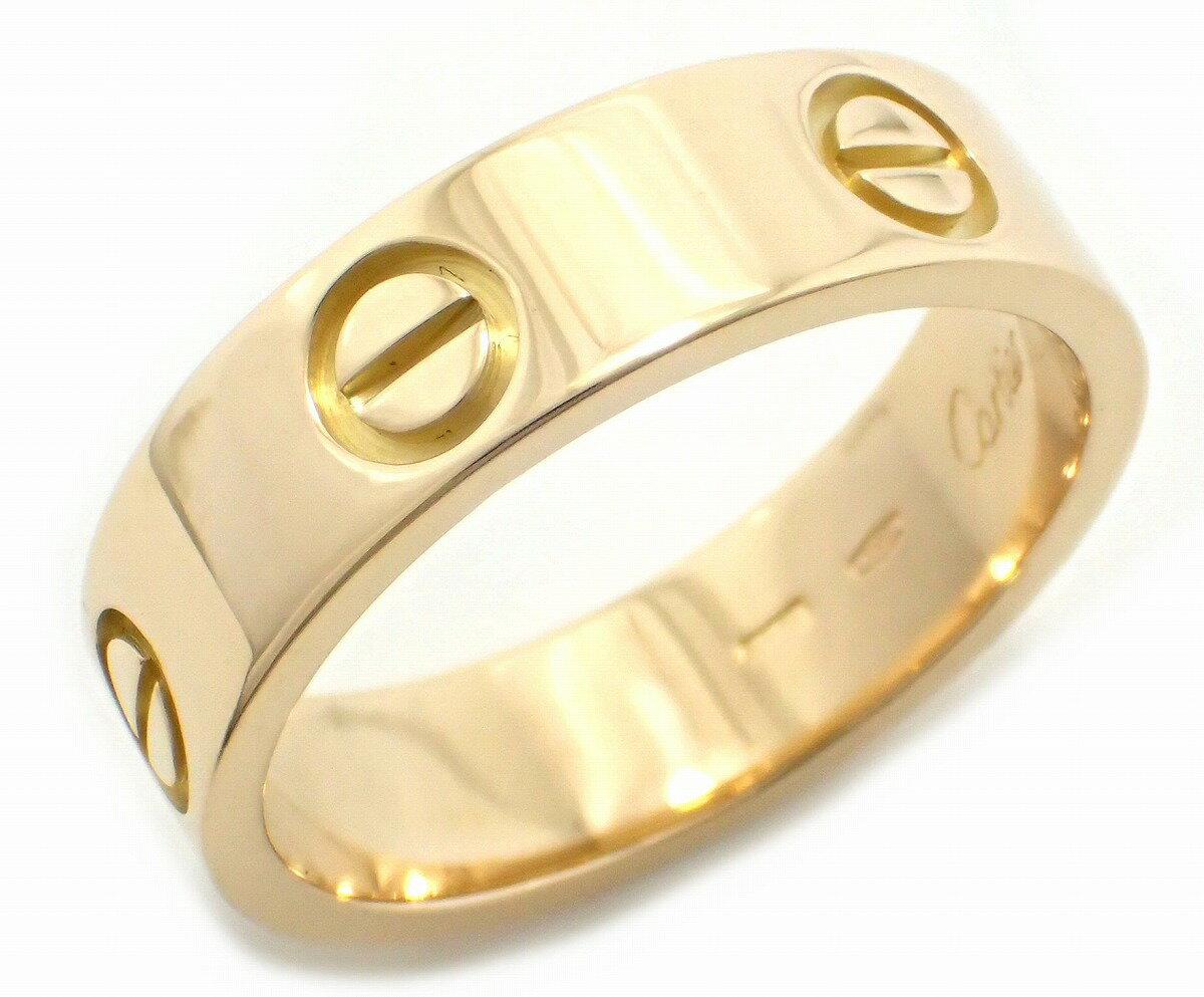 【ジュエリー】【新品仕上げ済】Cartier カルティエ ラブリング LOVE 指輪 16号 #56 K18YG イエローゴールド リング B4084600 B4084656【】【k】【Blumin/森田質店】【質屋出店】 【16号 #56】