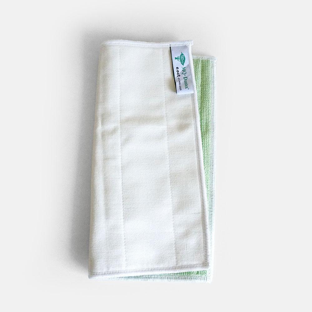 MQ・Duotex / Double Cloth(Green/Cream)【メール便可 1点まで】【MQデュオテックス/ダブルクロス/ウルトラマイクロファイバークロス】[111406