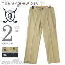 【送料無料】【大きいサイズ】【メンズ】[36]TOMMY HILFIGER GOLF(トミーヒルフィガーゴルフ)ノータックコットンパンツ【USA直輸入】tm600