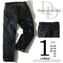 【大きいサイズ】【メンズ】[36・38・40・42・44・46・48・50]DANIEL DODD 変形ベルトループデニムパンツ azd-121