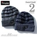 【送料無料】【大きいサイズ】【メンズ】DANIEL DODD Thinsulate ニットキャップ【帽子】【秋冬新作】azcp-16dd01