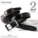 【送料無料】【大きいサイズ】【メンズ】DANIEL DODD ビジネスレザーロングベルト azbl-032l