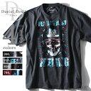 【送料無料】【大きいサイズ】【メンズ】DANIEL DODD 半袖プリントTシャツ(FEELING) azpt-14124