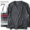 【送料無料】【大きいサイズ】【メンズ】DANIEL DODD 無地クルーネックロングTシャツ azt-1504218