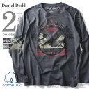 【タダ割】【送料無料】【大きいサイズ】【メンズ】DANIEL DODD プリントロングTシャツ(ZAXON) azt-160104