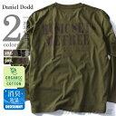 【タダ割】【大きいサイズ】【メンズ】DANIEL DODD オーガニック バックプリントロングTシャツ(MUSIC SETS) azt-160428