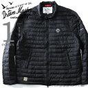 【大きいサイズ】【メンズ】DREAM MASTER(ドリームマスター) ライダースダウンジャケット dm-his6630