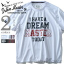 男装 - 【大きいサイズ】【メンズ】DREAM MASTER(ドリームマスター) 半袖プリントTシャツ【春夏新作】dm-hls6103