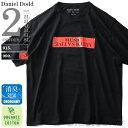 【タダ割】大きいサイズ メンズ DANIEL DODD 半袖 Tシャツ オーガニック プリント 半袖Tシャツ MUSIC ALTERNATIVE azt-190232