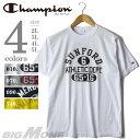 【送料無料】大きいサイズ メンズ [2L・3L・4L・5L]Champion(チャンピオン) プリント半袖Tシャツ(MidSummer) c9-b302