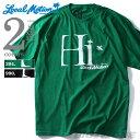 【送料無料】【大きいサイズ】【メンズ】LOCAL MOTION(ローカルモーション)プリント半袖Tシャツ(HI)【USA直輸入】smt4205