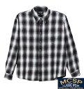 【大きいサイズ】【メンズ】 Mc.S.P チェックシャツ チャコール系 1157-3371-2 [3L・4L・5L・6L・8L]