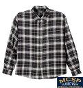 【大きいサイズ】【メンズ】 Mc.S.P チェックシャツ ブラック系 1157-3372-2 [3L・4L・5L・6L・8L]