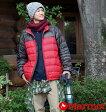 【大きいサイズ】【メンズ】 Marmot ライトダウンジャケット レッド×チャコール 1173-3311-1 [3L・4L・5L・6L]