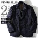 【送料無料】【大きいサイズ】【メンズ】[2L・3L・4L・5L]SARTORIA BELLINI スタンドライナー付中綿ジャケット azvjk-01b
