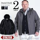 【送料無料】【大きいサイズ】【メンズ】DANIEL DODD ストレッチフーデッドブルゾン【春夏新作】azb-1341