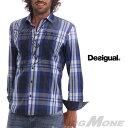 【送料無料】【大きいサイズ】【メンズ】[XL・XXL・3XL]DESIGUAL(デシグアル) カジュアルシャツ(Javi) 42c1215