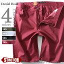 【送料無料】【大きいサイズ】【メンズ】DANIEL DODD スラブストレッチカラーデニムショー