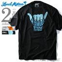 【大きいサイズ】【メンズ】LOCAL MOTION(ローカルモーション) プリント半袖Tシャツ(HAWAII AN STYLE)【USA直輸入】mts-4412