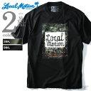 【大きいサイズ】【メンズ】LOCAL MOTION(ローカルモーション) プリント半袖Tシャツ(LOCALLY GROWN)【USA直輸入】smt-4417